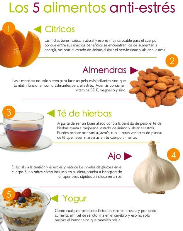 alimentos-estres-stress-bienestar-salud-saludable